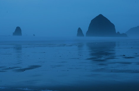 A Blue Cannon Beach