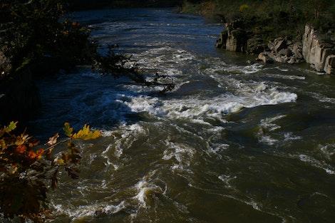 Colliding Rivers