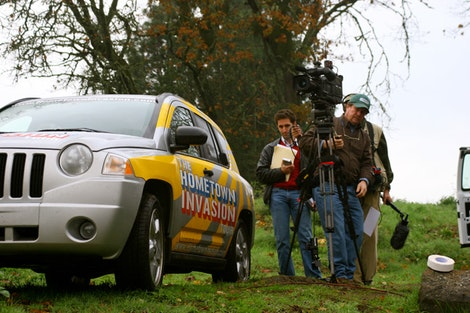 Compass Meets Film Crew