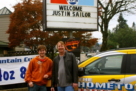 Welcome Justin Sailor #1