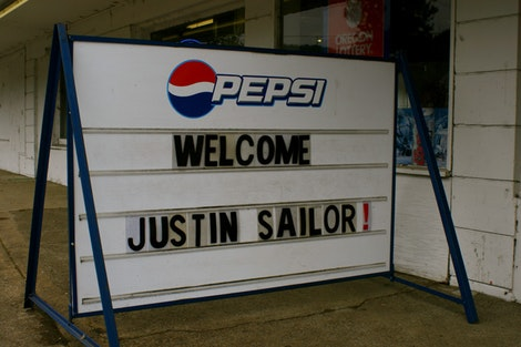Welcome Justin Sailor #2