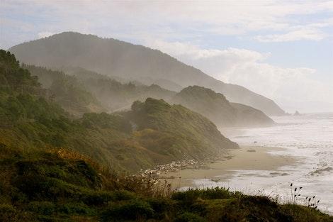 Leaving the Oregon Coast