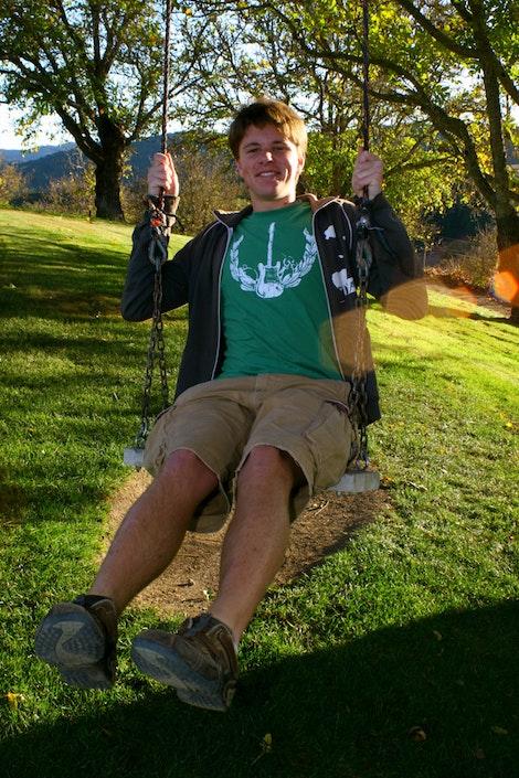 Duke on the Swing