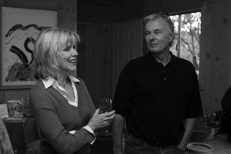 Wine Tasting, Denise and Greg