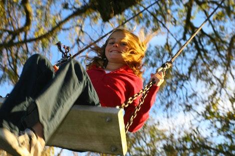 Blair on the Swing #2