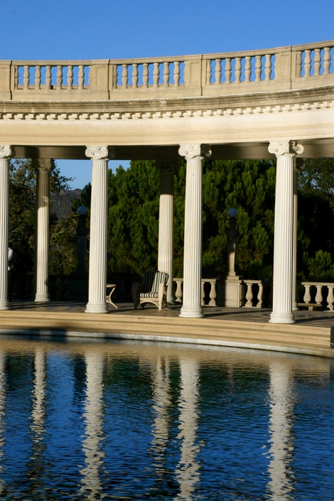 Oval Pool at Hearst Castle #2