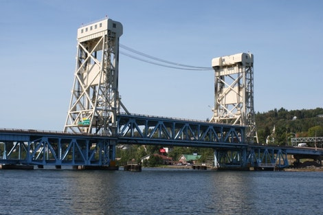 Houghton/Hancock Lift Bridge