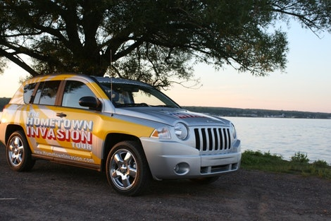 Jeep Compass and Baraga