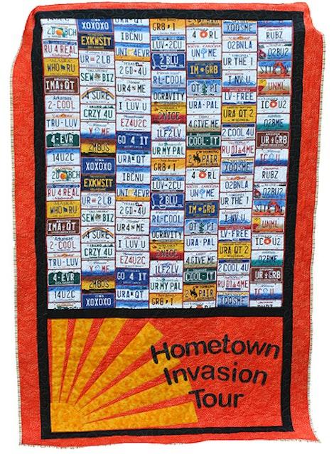 Hometown Invasion Quilt