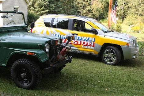 Jeep Compass & Jeep CJ-5