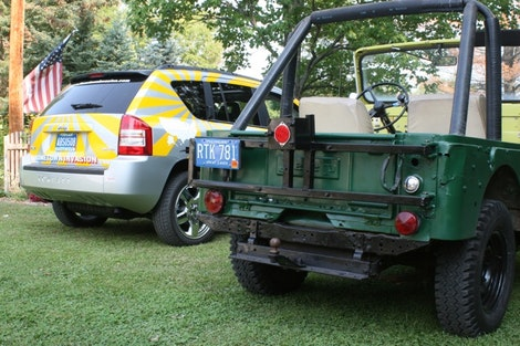 Jeep Compass & Jeep CJ-5